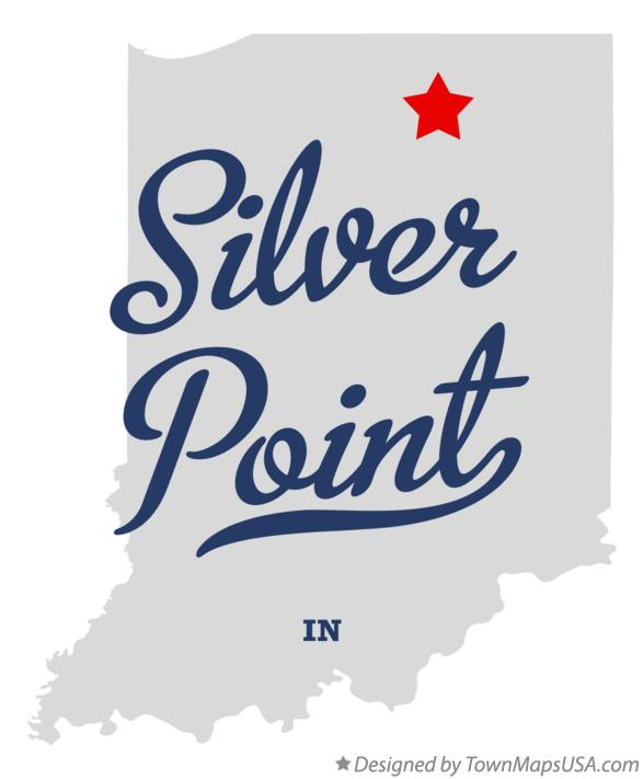 Map of Silver Point Indiana IN