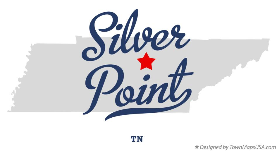 Map of Silver Point Tennessee TN