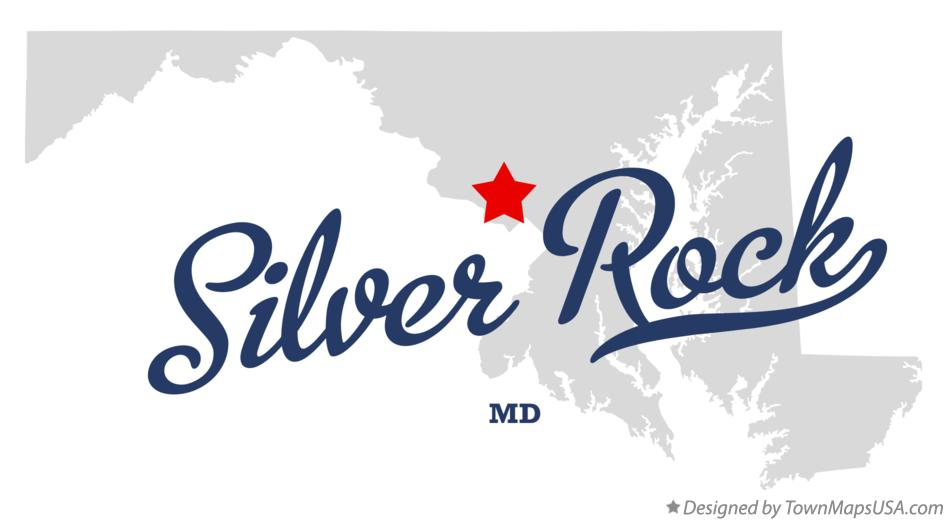 Map of Silver Rock Maryland MD