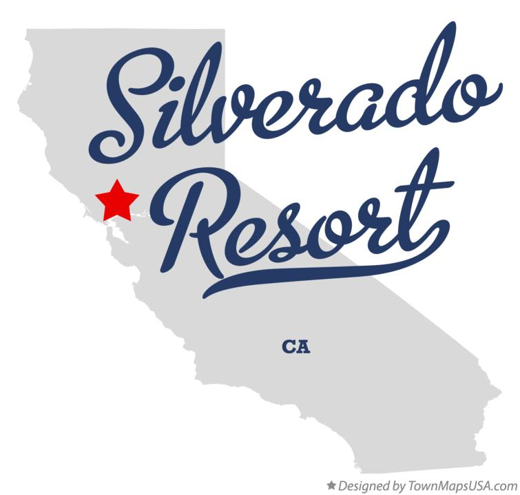 Map of Silverado Resort California CA