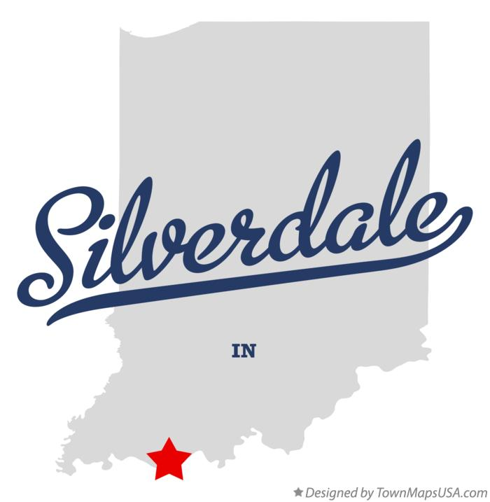 Map of Silverdale Indiana IN