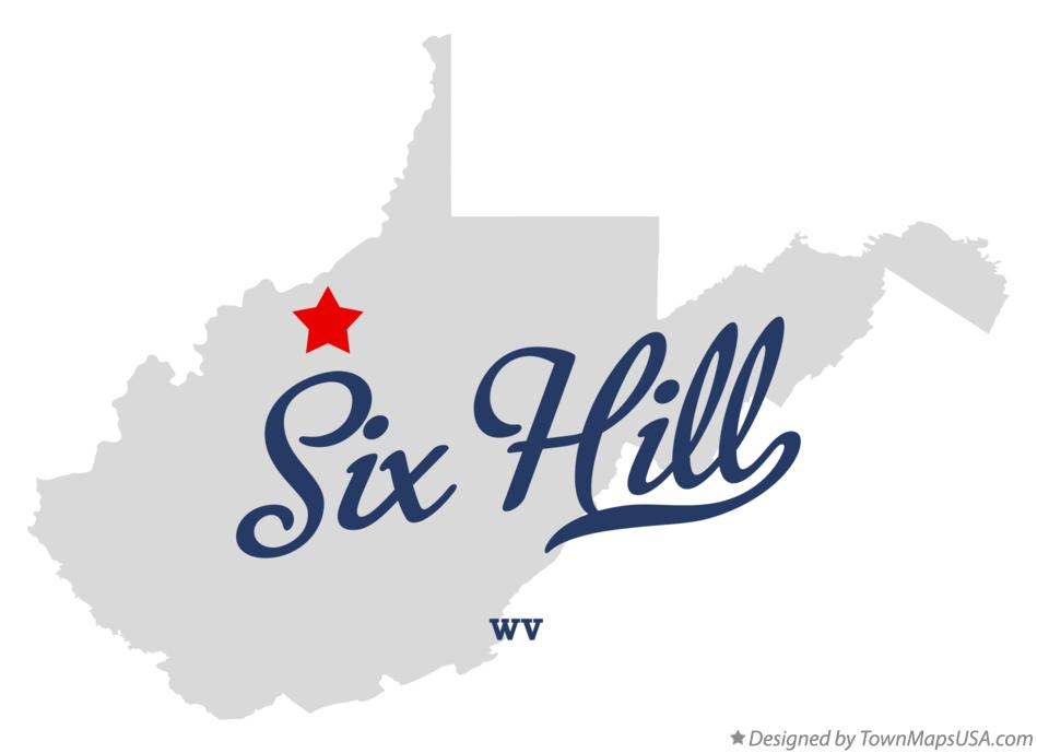 Map of Six Hill West Virginia WV