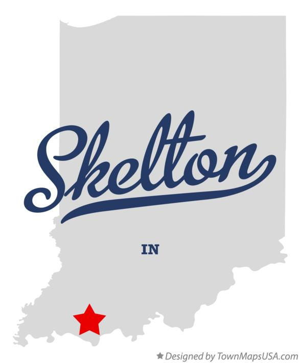 Map of Skelton Indiana IN