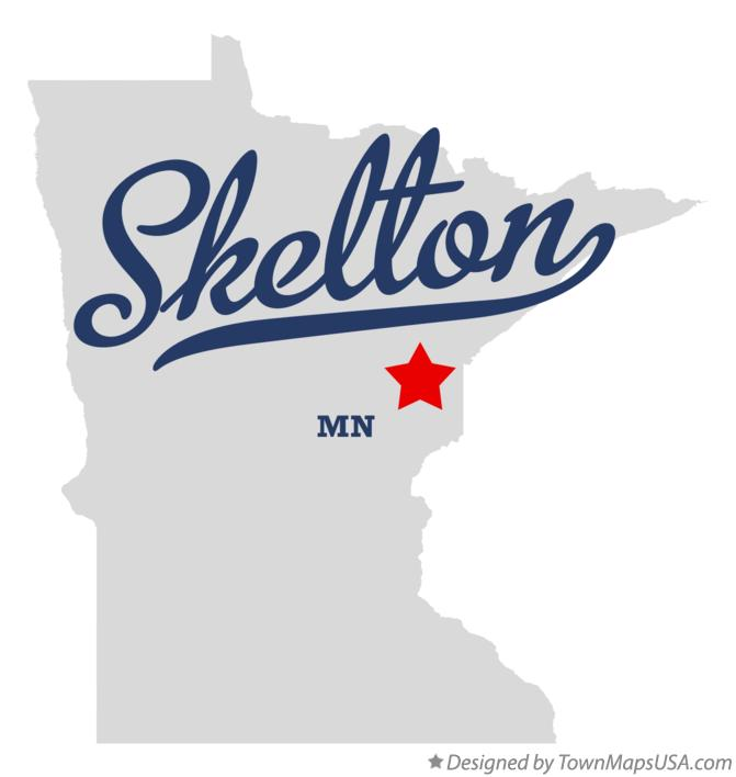 Map of Skelton Minnesota MN