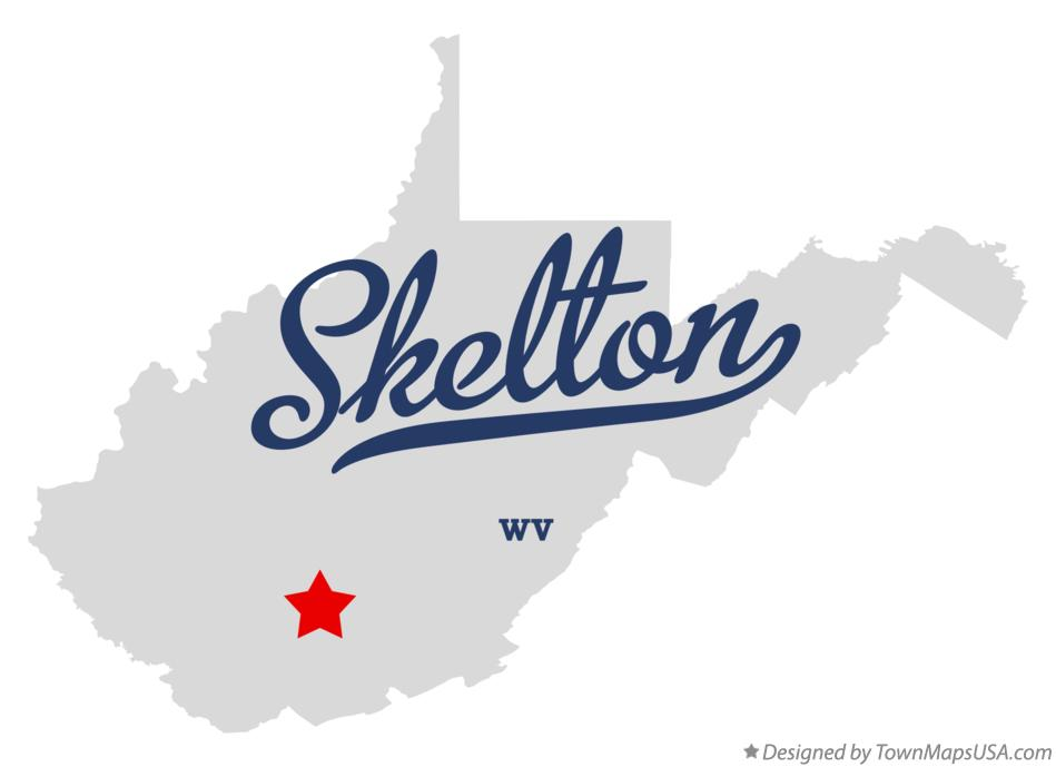 Map of Skelton West Virginia WV