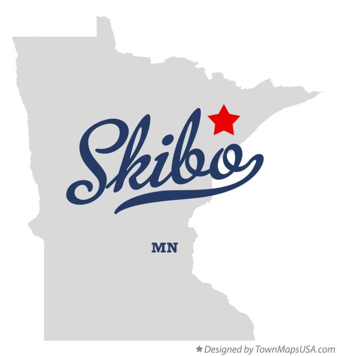 Map of Skibo Minnesota MN