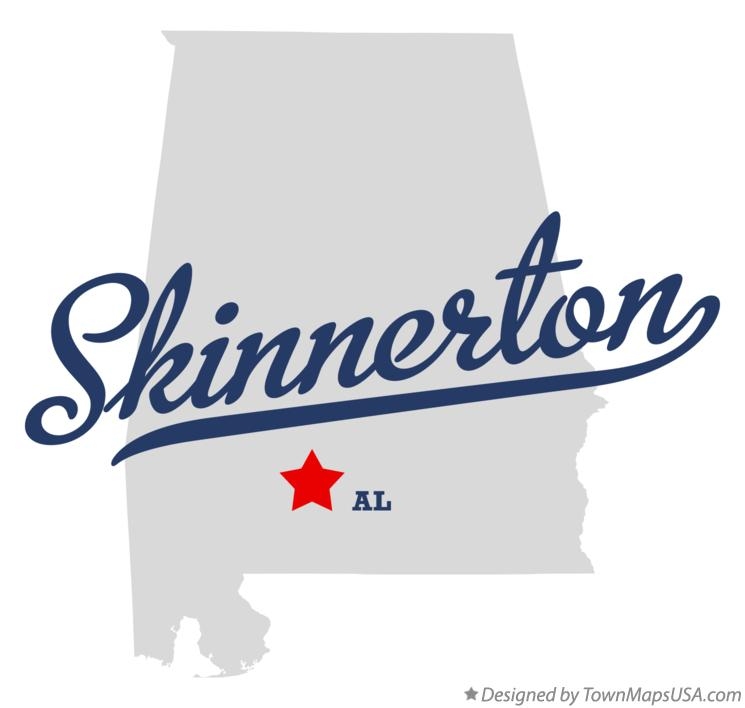 Map of Skinnerton Alabama AL