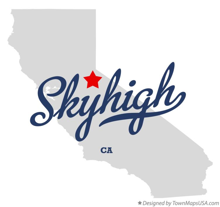 Map of Skyhigh California CA