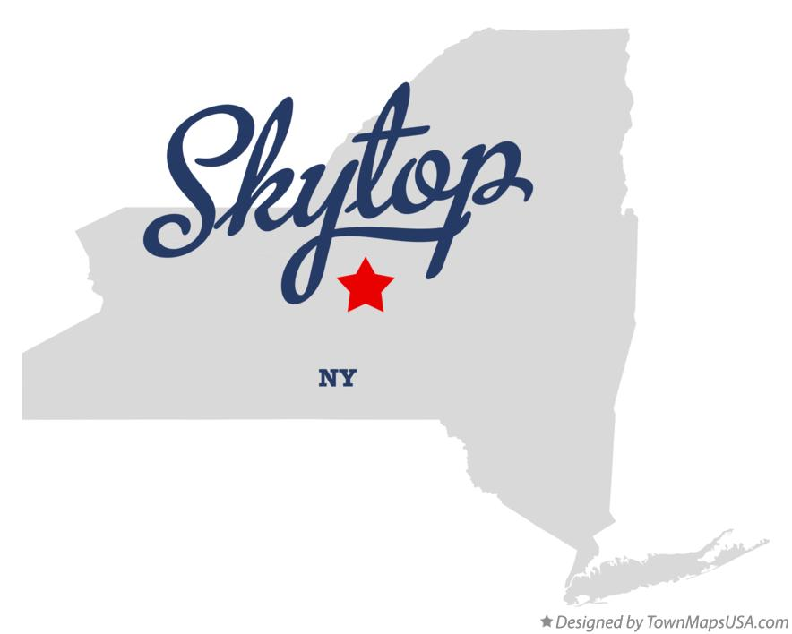 Map of Skytop New York NY