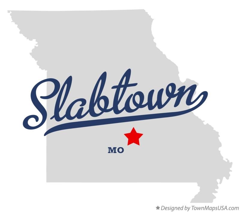 Map of Slabtown Missouri MO
