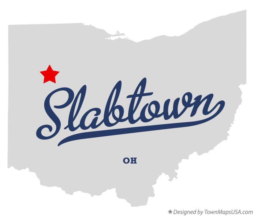 Map of Slabtown Ohio OH