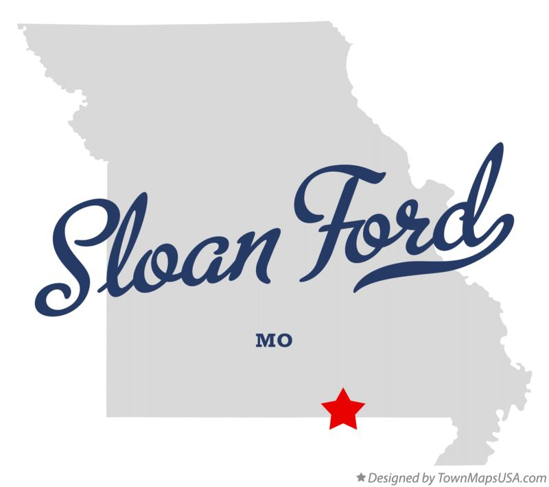 Map of Sloan Ford Missouri MO