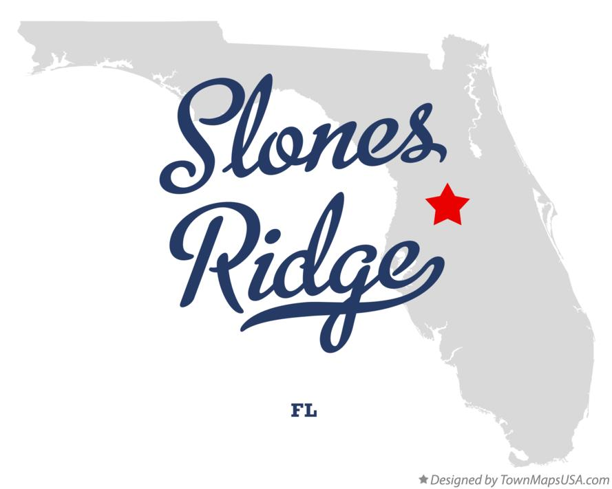 Map of Slones Ridge Florida FL