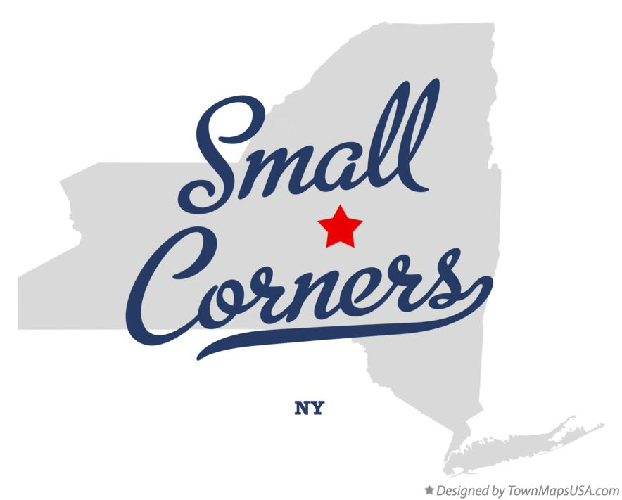 Map of Small Corners New York NY