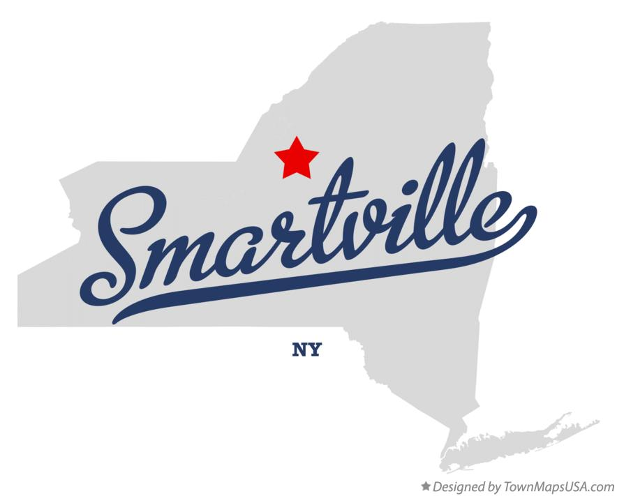 Map of Smartville New York NY