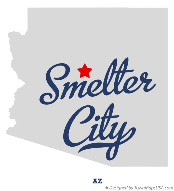 Map of Smelter City Arizona AZ