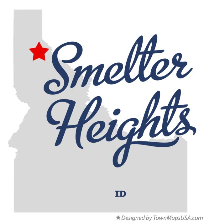 Map of Smelter Heights Idaho ID