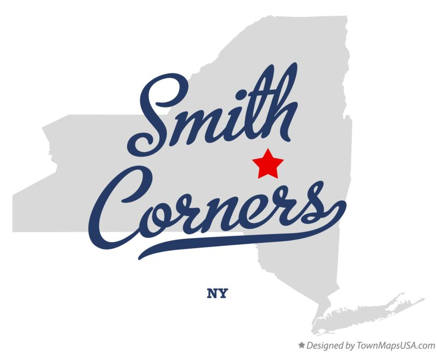 Map of Smith Corners New York NY