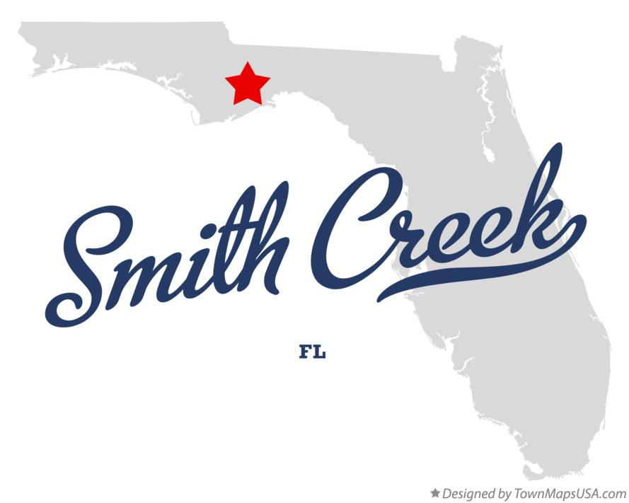 Map of Smith Creek Florida FL