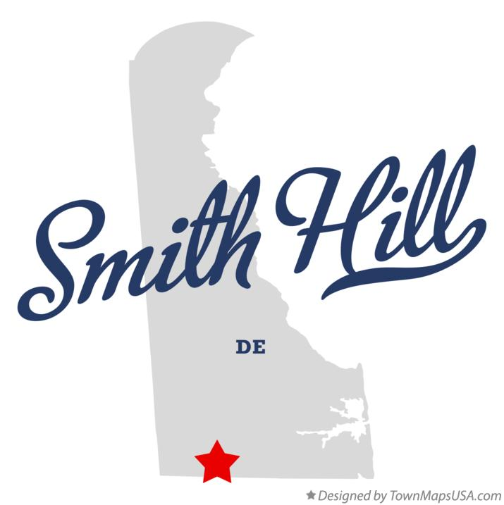 Map of Smith Hill Delaware DE