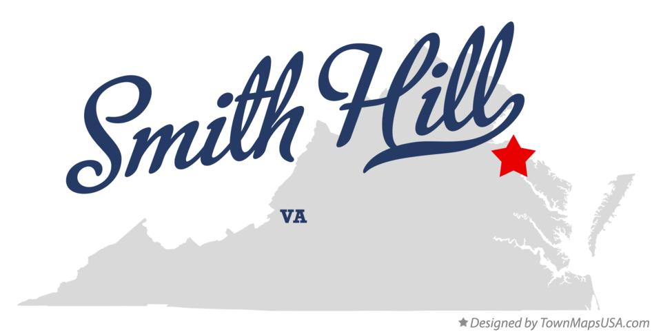 Map of Smith Hill Virginia VA