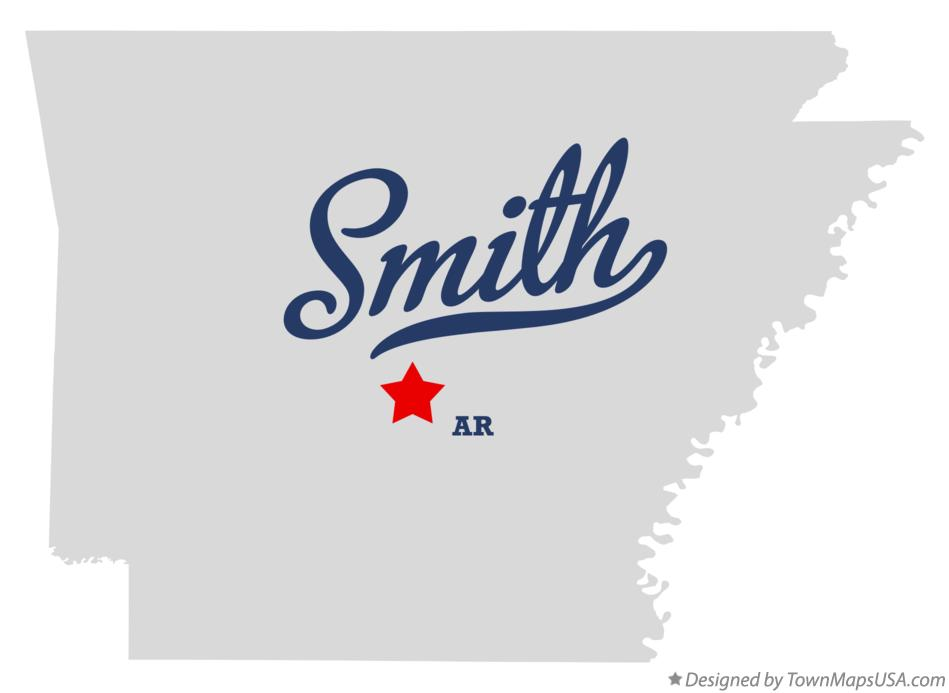 Map of Smith Arkansas AR