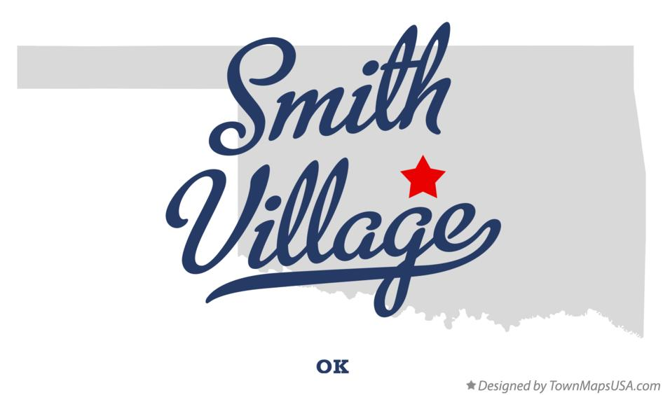 Map of Smith Village Oklahoma OK