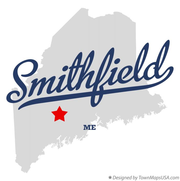 Map of Smithfield Maine ME