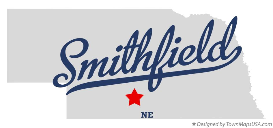Map of Smithfield Nebraska NE