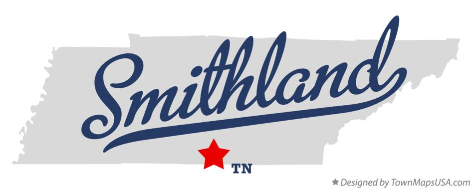Map of Smithland Tennessee TN