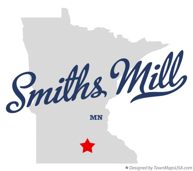 Map of Smiths Mill Minnesota MN