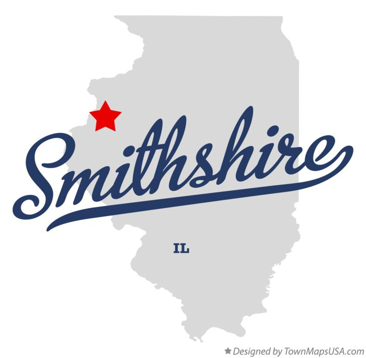 Map of Smithshire Illinois IL
