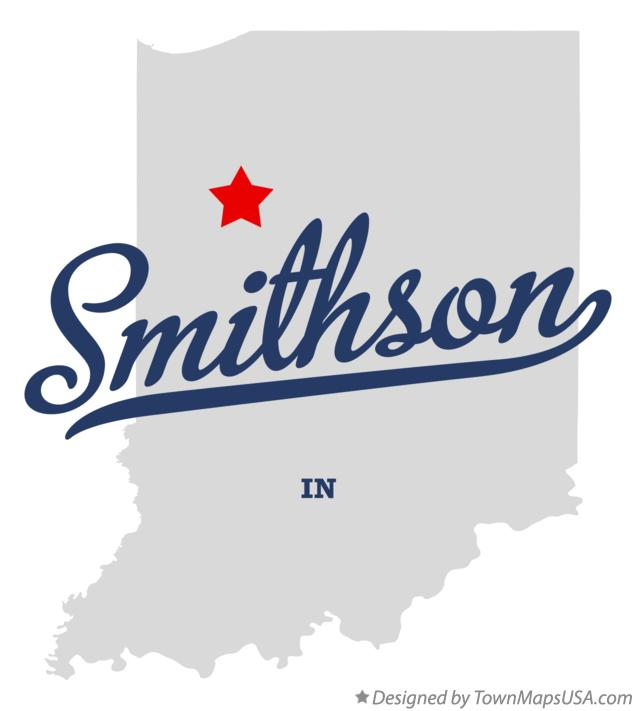 Map of Smithson Indiana IN