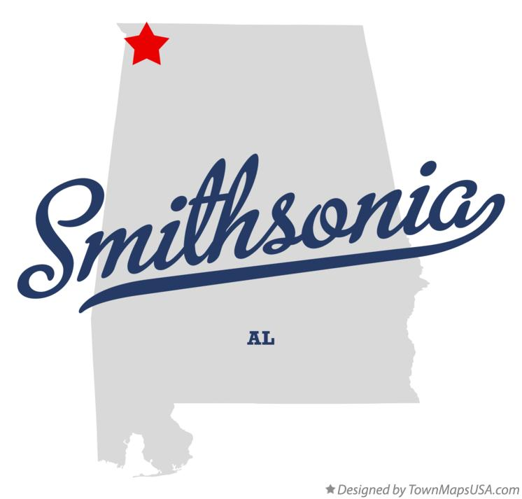 Map of Smithsonia Alabama AL