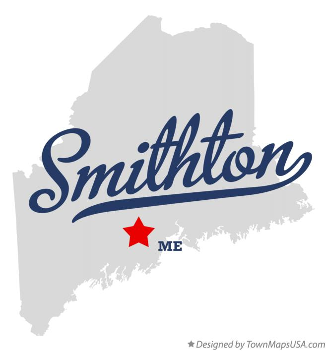 Map of Smithton Maine ME