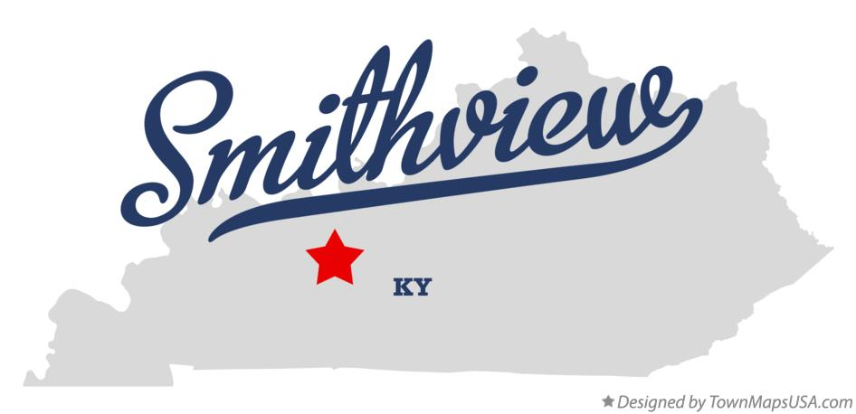Map of Smithview Kentucky KY