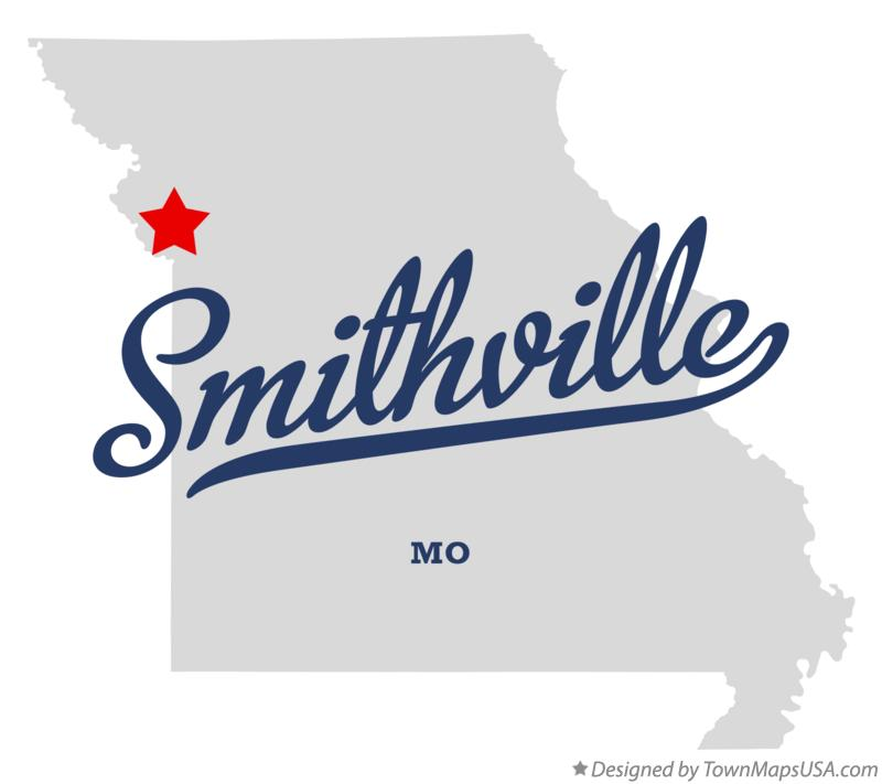 Ferrelview (MO) United States  city images : Map of Smithville, MO, Missouri