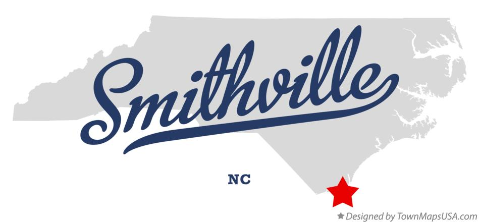 Map of Smithville North Carolina NC