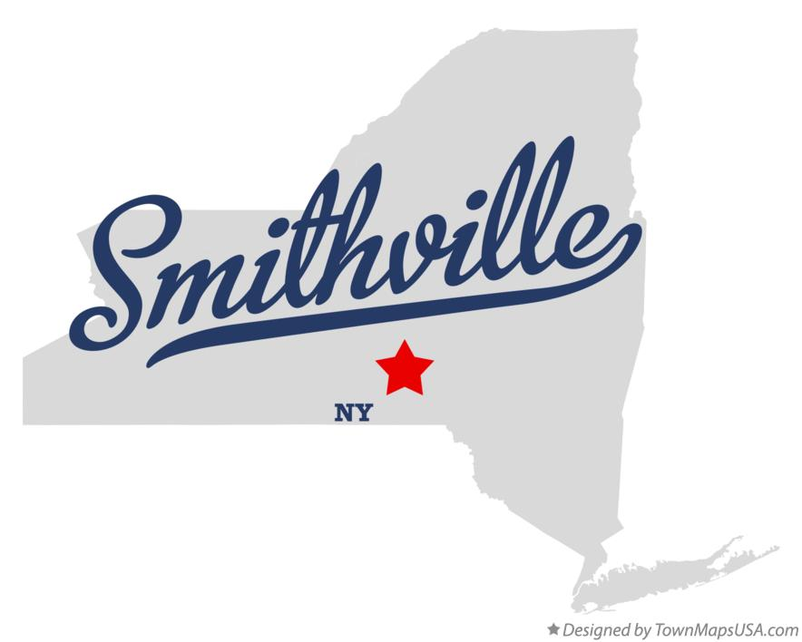 Map of Smithville New York NY