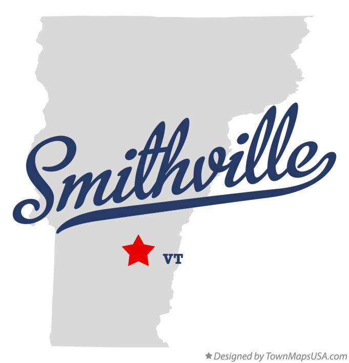 Map of Smithville Vermont VT