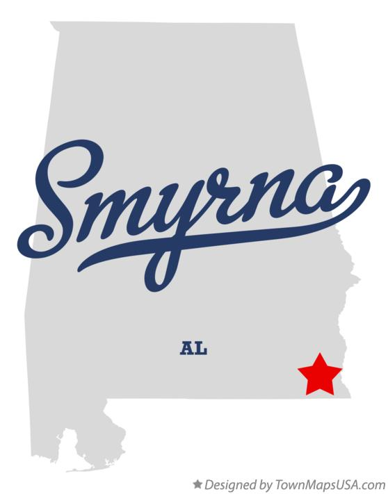 Map of Smyrna Alabama AL