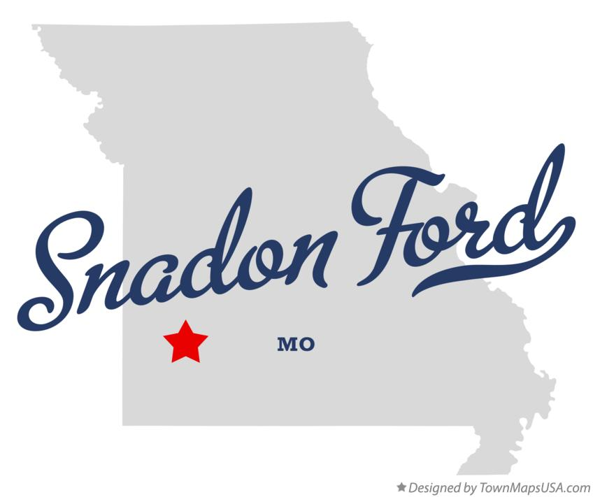 Map of Snadon Ford Missouri MO