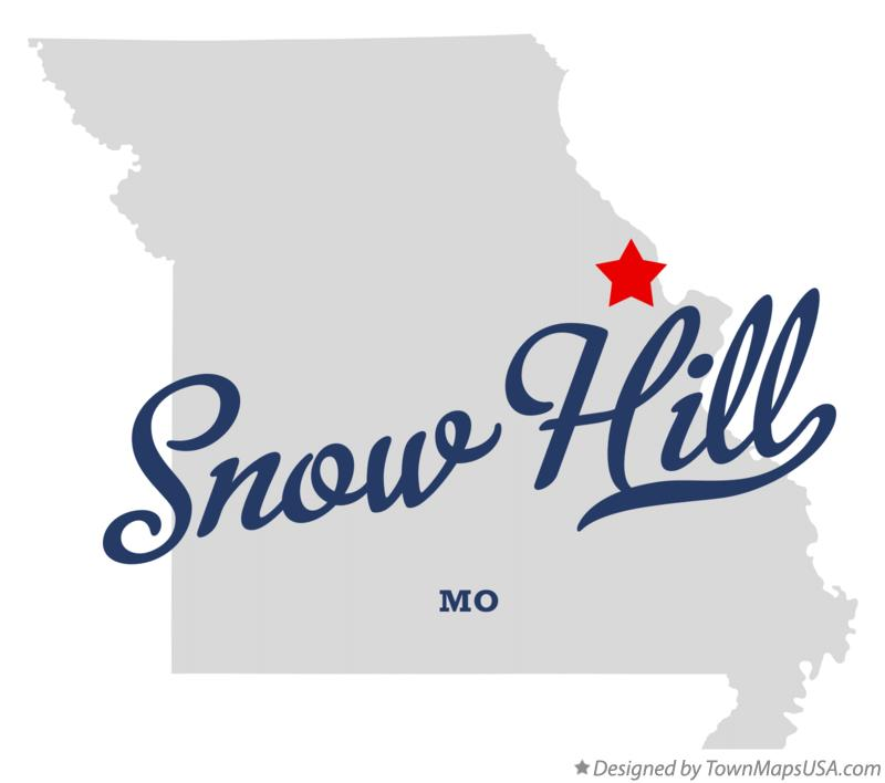 Map of Snow Hill Missouri MO