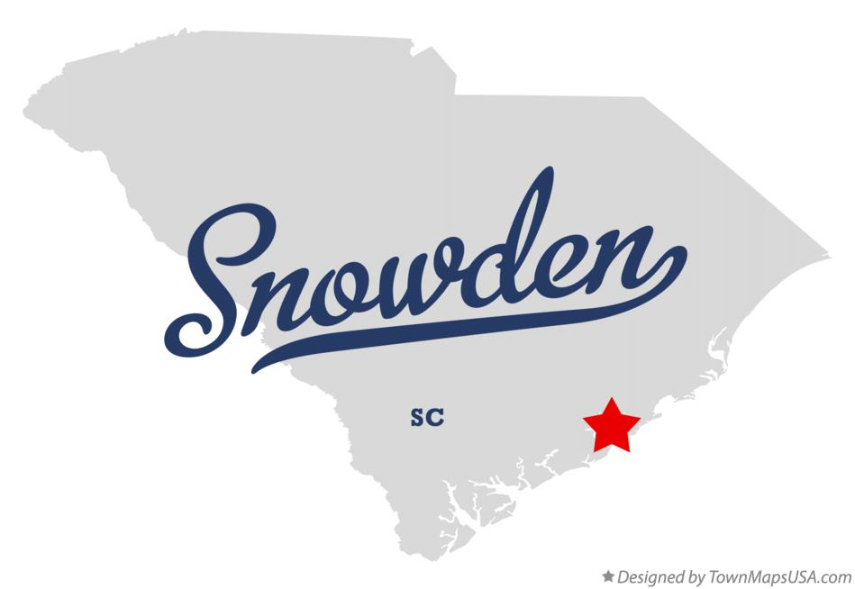 Map of Snowden South Carolina SC