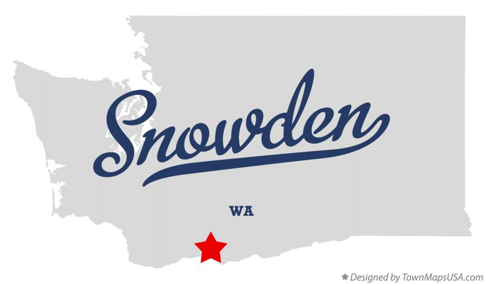 Map of Snowden Washington WA