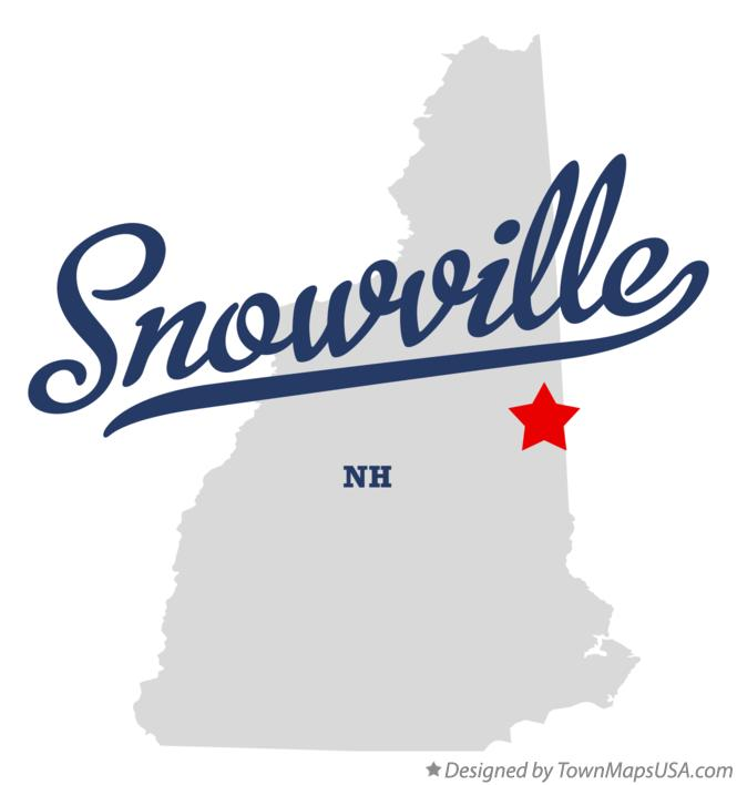 Map of Snowville New Hampshire NH