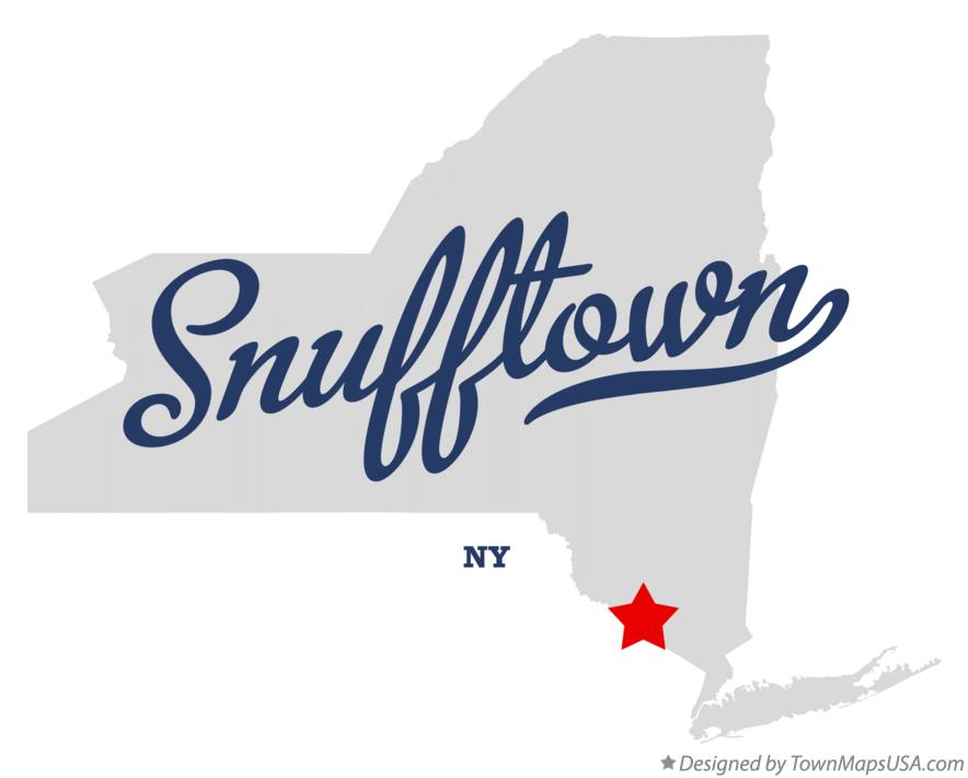 Map of Snufftown New York NY