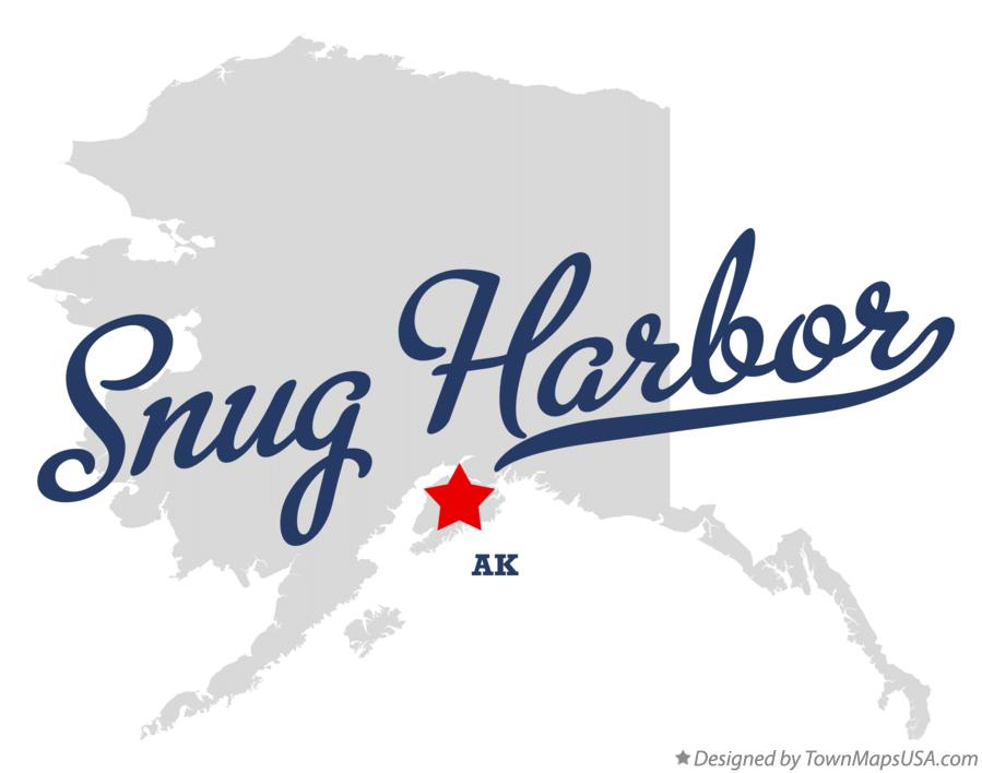 Map of Snug Harbor Alaska AK