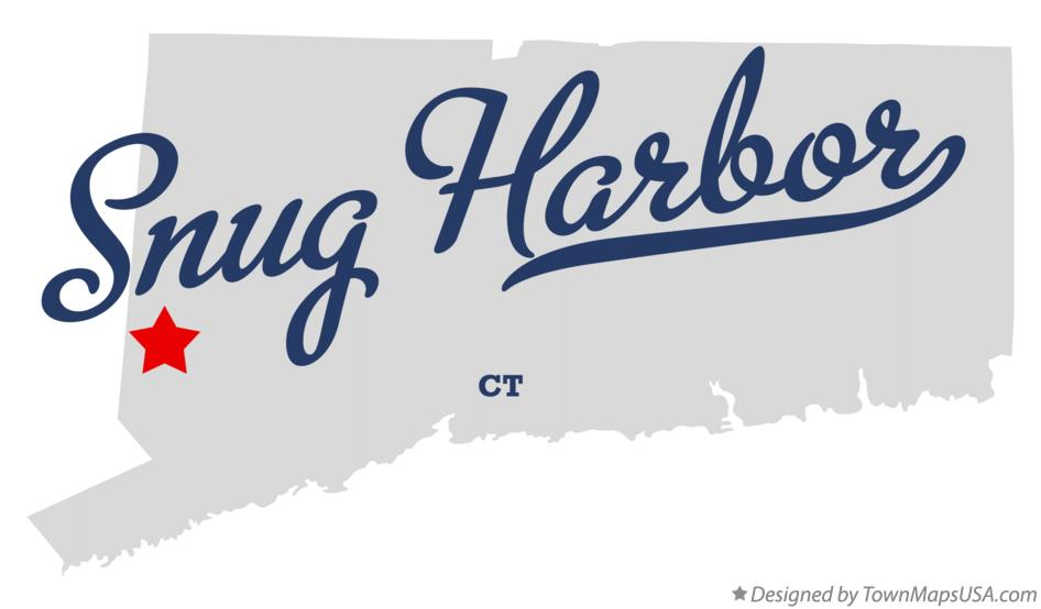 Map of Snug Harbor Connecticut CT