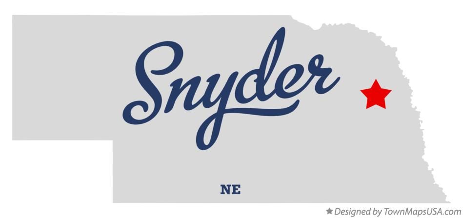 Map of Snyder Nebraska NE